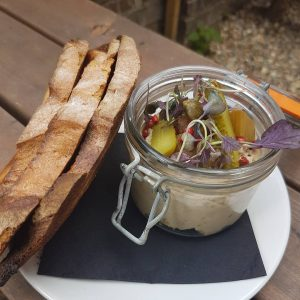 Its a mackerel pate pickled rhubarb kinda wednesday